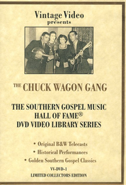 Hall of Fame, Volume 1 DVD   -     By: The Chuck Wagon Gang