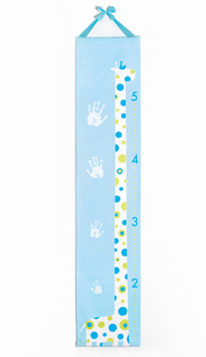 Handprint Growth Chart, Blue  -