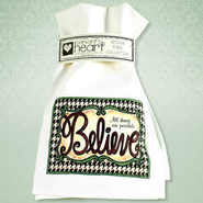 All Things are Possible Believe Kitchen Towel  -