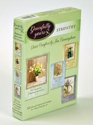Quiet Comfort Sympathy Cards, Box of 12   -     By: Jon Cunningham