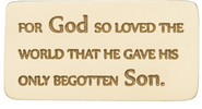 For God So Loved the World Tile  -