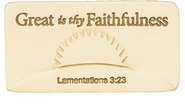 Great is Thy Faithfulness Tile  -