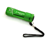 Personalized, True Love Flashlight, Green   -