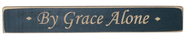 By Grace Alone Plaque, Blue  -