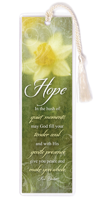 Hope Daffodil Bookmark  -