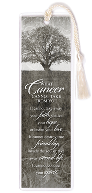 What Cancer Cannot Do Bookmark  -