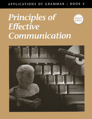 Applicatios of Grammar Book 4: Principles of Effective   Communication, Grade 10  -     By: Annie Lee Sloan