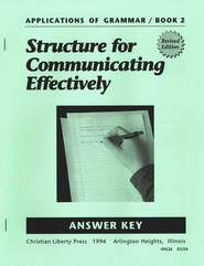 Applications of Grammar 2 Teacher Key   -     By: Garry J. Moes