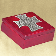 The Lord's Call--Engravable Cherry Wood Keepsake Box   -
