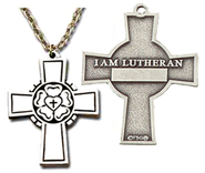 I Am Lutheran Cross  -