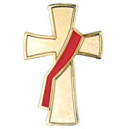 Deacon Cross Pin  -