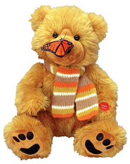 Plush Bear, Sings Butterfly Kisses  -