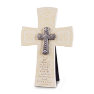 By Grace We are Saved Wall Cross  -
