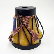 Heart Lantern Christmas Grandma's Kitchen  -