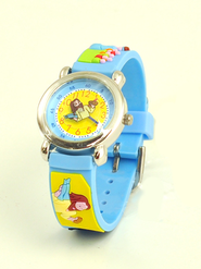 Loaves and Fishes Child's Watch, Blue  -