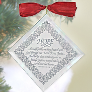 Hope Mirror Ornament  -