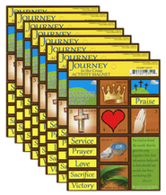 Journey to the Cross Activity Magnets/set 12   -