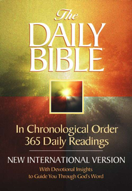 The NIV Daily Bible: In Chronological Order, Hardcover 1984  -     Edited By: F. LaGard Smith