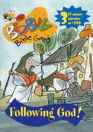 The Bedbug Bible Gang: Following God! DVD   -