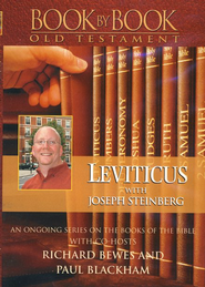 Book by Book Old Testament: Leviticus, DVD   -     By: Joseph Steinberg