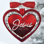 Jesus the Heart of Christmas, John 3:16 Ornament, Gift Boxed  -