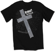 Broken Shirt, Black, Small  -