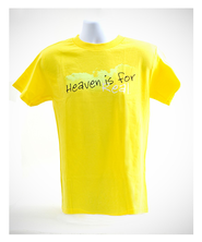 Heaven is For Real Shirt, Yellow, Youth Large  -