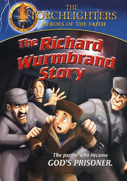 The Torchlighters Series: The Richard Wurmbrand Story, DVD   -