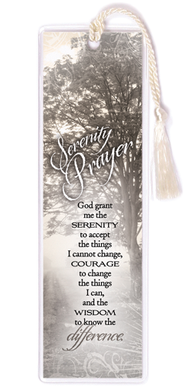 Serenity Prayer Bookmark  -