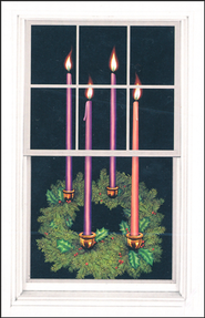 Advent Wreath Poster   -