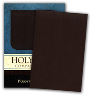 God's Word Compact Bible,Duravella, brown  -