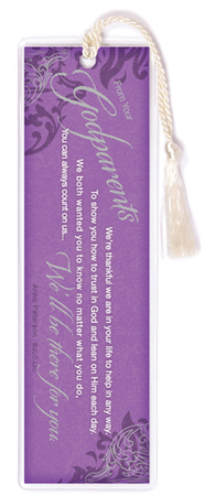 There For You, Godparents Bookmark  -     By: Anne Peterson