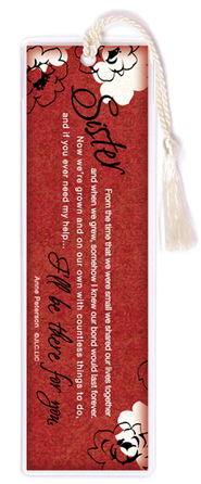 There For You, Sister Bookmark  -     By: Anne Peterson
