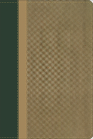 GW Compact Bible, Duravella, Duotone, hunter green/khaki  -