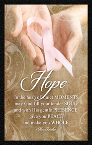 Hope Pink Ribbon Magnet  -     By: Kris Decker