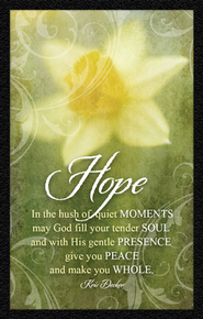 Hope Daffodil Magnet  -     By: Kris Decker