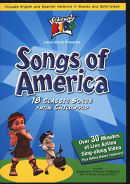 Songs of America on DVD   -     By: Cedarmont Kids