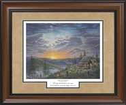 Singin' On The Mountain, Framed Print   -     By: Jack E. Dawson