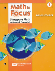 Math in Focus: The Singapore Approach Grade 1  Assessments  -