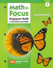 Math in Focus: The Singapore Approach Grade 3 Assessments  -