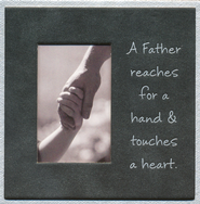 A Father Reaches Easel Magnet   -