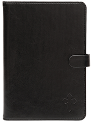 eReader Cover with Cross for Kindle, Black  -