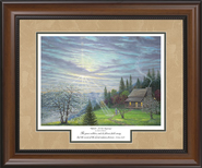 Rebirth A New Beginning Framed Print  -     By: Jack E. Dawson