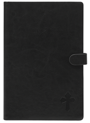 eReader Cover with Cross for Nook Color, Black  -