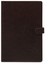 eReader Cover with Cross for Nook Color, Brown  -
