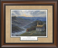 Heart of Worship Framed Print  -     By: Jack E. Dawson