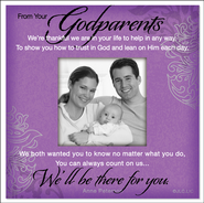 There For You, Godparents Magnet  -     By: Anne Peterson