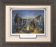 Sharing the Light Framed Print  -     By: Jack E. Dawson