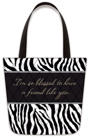 Blessed To Have A Friend Like You, Tote-Shaped Magnet   -