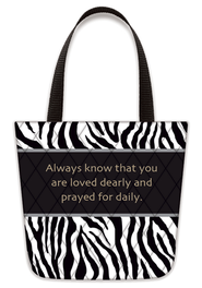 Always Know That You Are Loved, Tote-Shaped Magnet   -